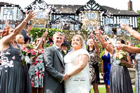 Wedding Photography Clitheroe confetti